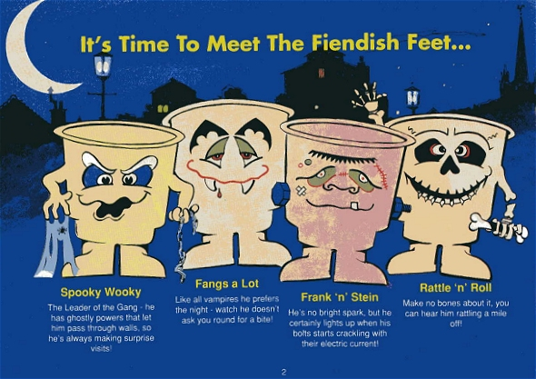 Image result for Fiendish feet